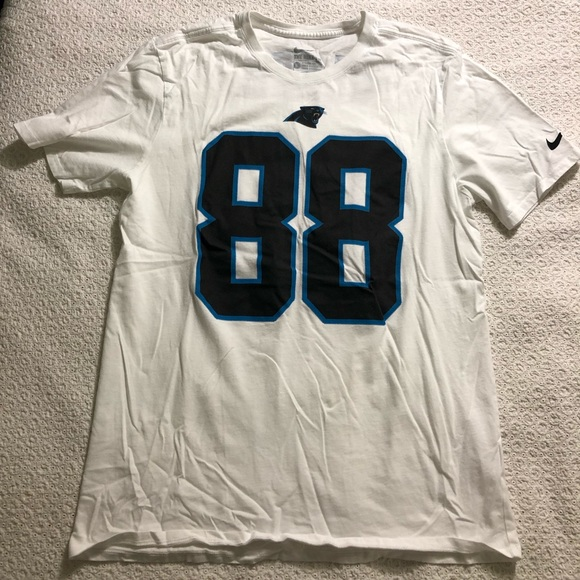 brand new c0af2 b88b0 Greg Olsen Carolina Panthers Nike Jersey Shirt #88